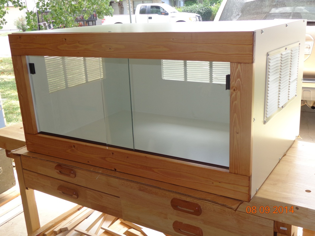 how to make a wooden vivarium
